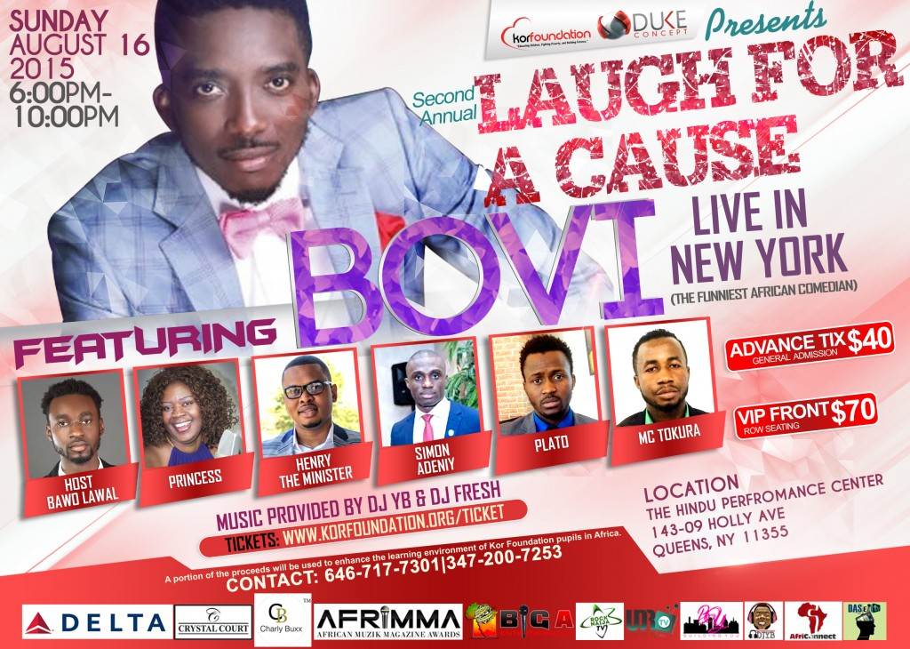 Bovi live in NYC