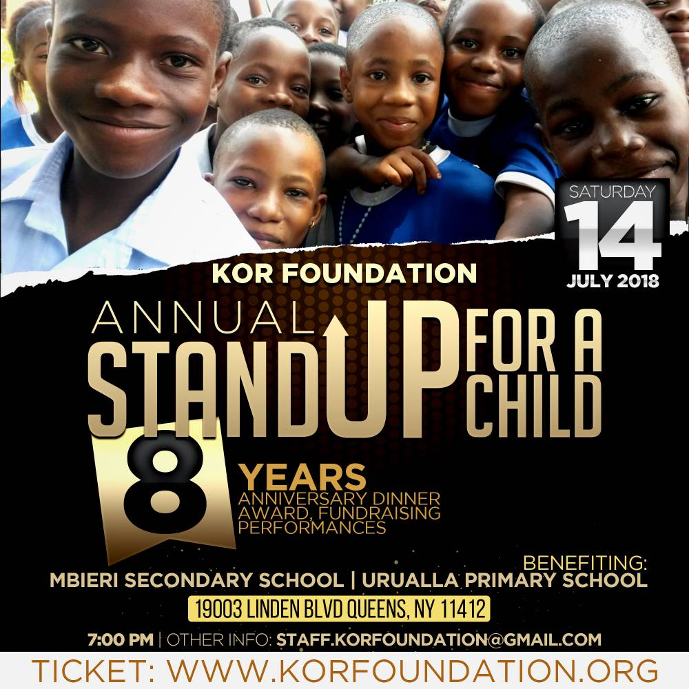 Kor foundation main flyer