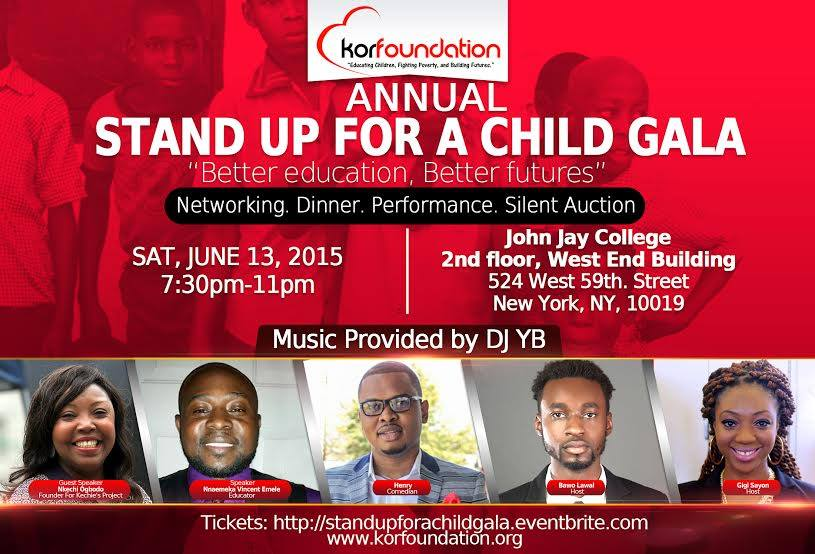 stand up for a child